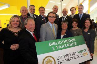Inauguration de la bibliothèque de Varennes, premier bâtiment institutionnel de conception nette zéro au Québec