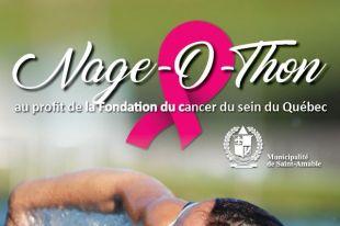 NAGE-O-THON À SAINT-AMABLE AU PROFIT DE LA FONDATION DU CANCER DU SEIN DU QUÉBEC