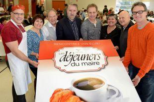 Grand succès pour le Déjeuner du maire de Noël à Varennes