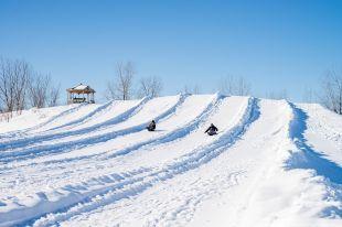 Des installations hivernales prêtes à vous accueillir à Saint-Amable