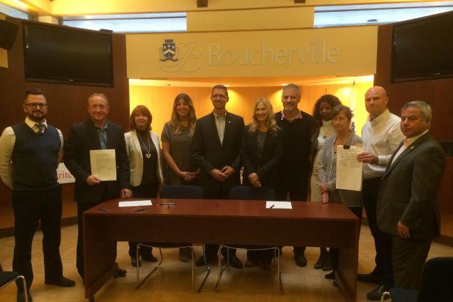 Boucherville interpelle les candidats du comté aux élections fédérales sur le transport des matières dangereuses