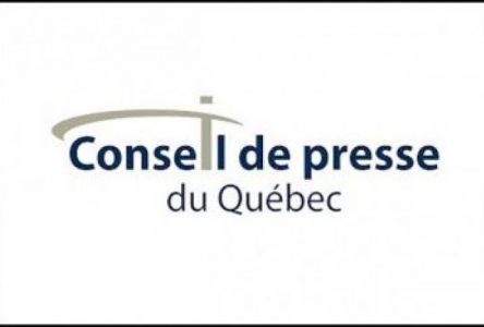 Le Conseil de presse retient une plainte contre La Relève