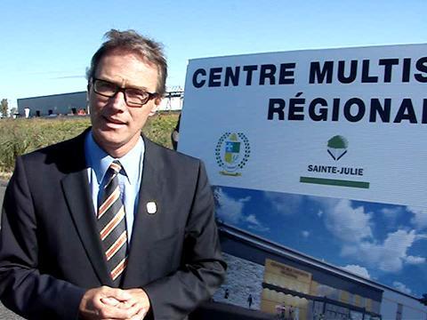 Implantation d'un centre régional multisports