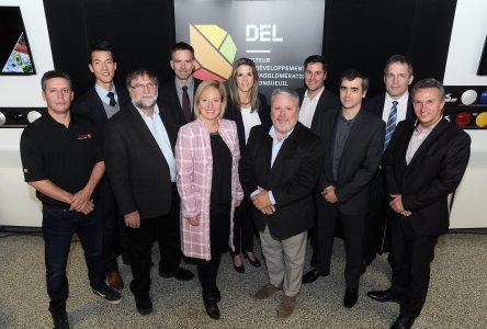 Six entreprises de la région reçoivent une aide financière de DEL et du technopôle IVÉO
