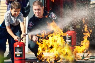 Porte ouverte à la caserne de Varennes et beaucoup d'activités pour la Semaine de la prévention des incendies
