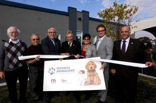 Inauguration des locaux des Services animaliers de la Vallée-du-RichelieuSaint-Mathieu-de-Beloeil