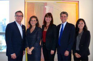 Le maire Martin Damphousse invité au New Jersey pour présenter les initiatives durables de Varennes