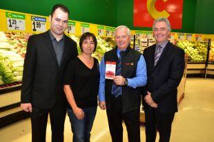 Un an d'épicerie chez Super C pour Catherine Lemieux
