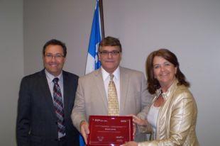 Bruno Lavoie honoré par la Fédération canadienne des municipalités
