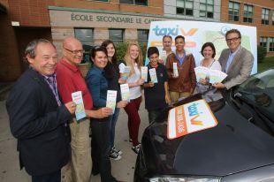 Taxi V : un nouveau moyen de transport pour les jeunes Varennois