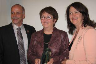 Ginette Desjardins, lauréate 2013 du Prix Marc St-Cerny pour l'implication citoyenne