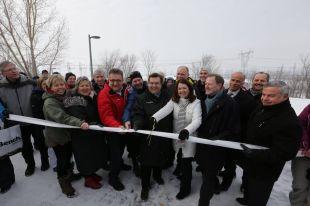 Investissement de 2 M$ à Sainte-Julie pour l'aménagement d'un sentier cyclable et pédestre