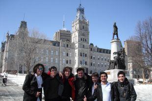 Sept étudiants du Collège Saint-Paul de Varennes ont pris part au Tournoi Jeunes Démocrates de l'Assemblée nationale