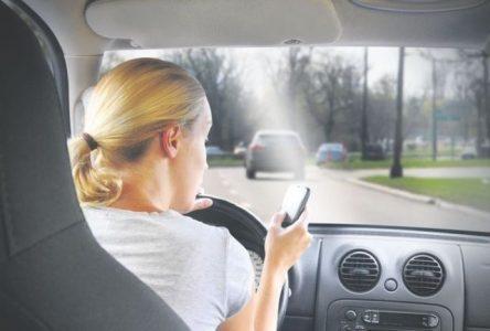 Opération nationale « Textes-« tue » ? » pour lutter contre les distractions au volant