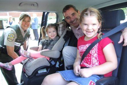 Plus de 6000 sièges d'auto pour enfant à vérifier en Montérégie