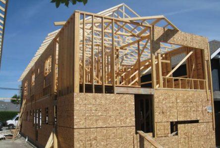Reprise de l'activité en mars dans la construction résidentielle sur la couronne sud