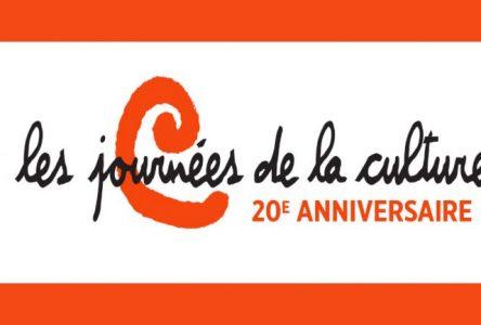 Beaucoup de nouveautés pour la 20e édition des Journées de la culture à Boucherville