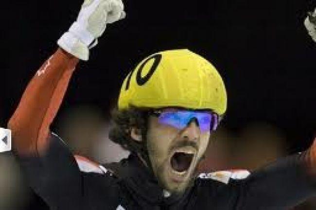 Charles Hamelin remporte une médaille d'or au Japon!