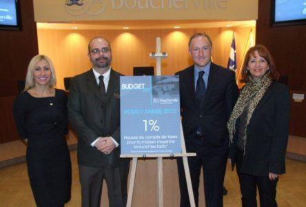 Hausse moyenne de 1% du compte de taxes à Boucherville