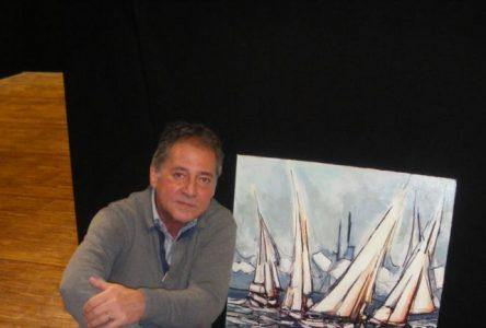 Le peintre Bouchervillois Pierre Laramée reçoit le prix spécial du jury de la Société nationale des Beaux-Arts, à Paris