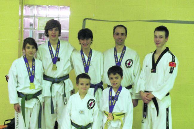 Le Club Taekwondo Boucherville se démarque