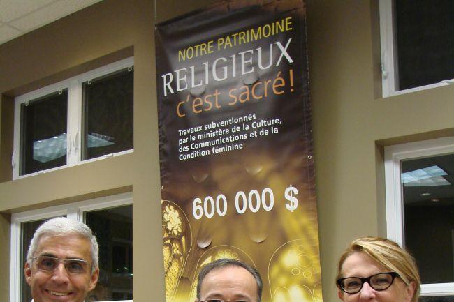 1,8 M$ nécessaire pour réparer le toit de la basilique Sainte-Anne de Varennes