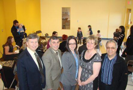 Inauguration officielle du CPE L'étoile filante à Sainte-Julie