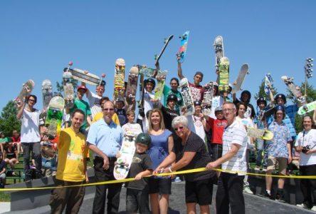 Inauguration officielle du tout nouveau parc de planches à roulettes à Contrecoeur!