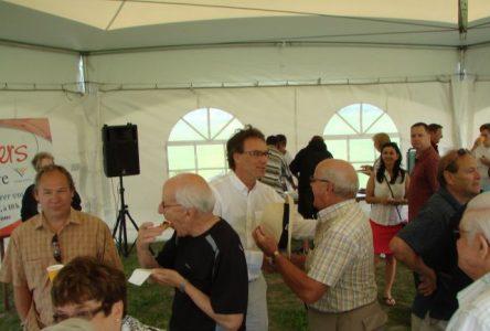 Plus de citoyens que prévu pour la première édition des Déjeuners du maire de Varennes
