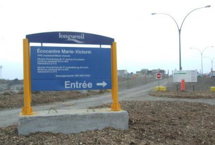 Un nouvel écocentre pour les résidants de Boucherville