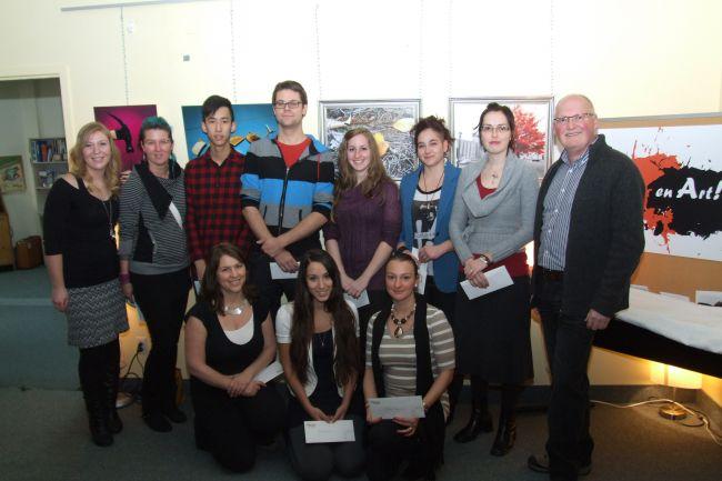 Vocation en Art dévoile ses lauréats 2012