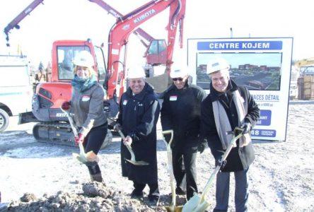 Coup d'envoi des travaux de construction du Centre Kojem à Boucherville