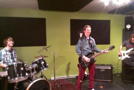 La salle de musique de la Maison des jeunes prend son rythme de croisière
