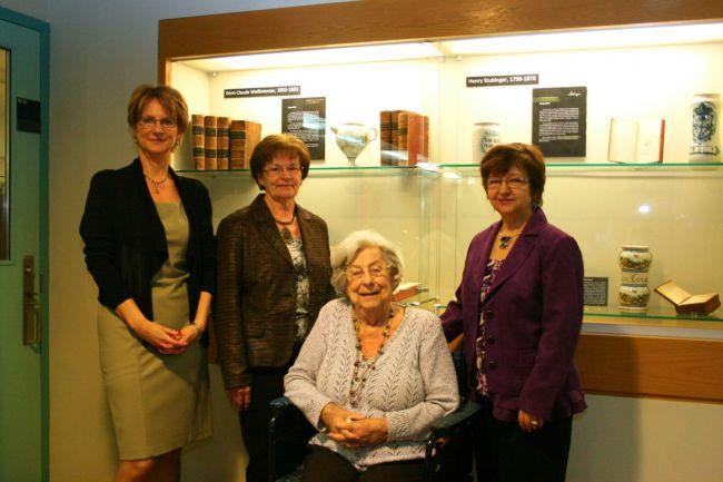 Une famille bouchervilloise remet une collection de livres de médecine d'autrefois à l'Université de Montréal