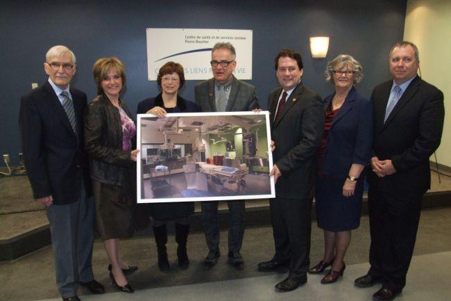 L'Hôpital Pierre-Boucher inaugure sa nouvelle salle d'hémodynamie