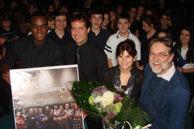 Une pièce de théâtre au profit d'Opération Enfant Soleil au Collège Saint-Paul de Varennes