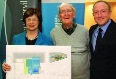 Boucherville reçoit une subvention de 7,5 M$ pour le projet de complexe aquatique