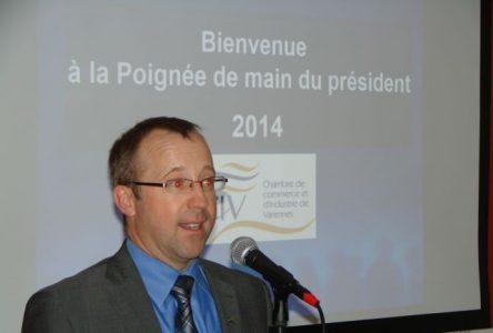 La CCIV veut continuer de contribuer au dynamisme grandissant de Varennes