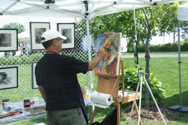 Le Symposium Arts et Jardins attire 5000 personnes au parc Vincent-d'Indy