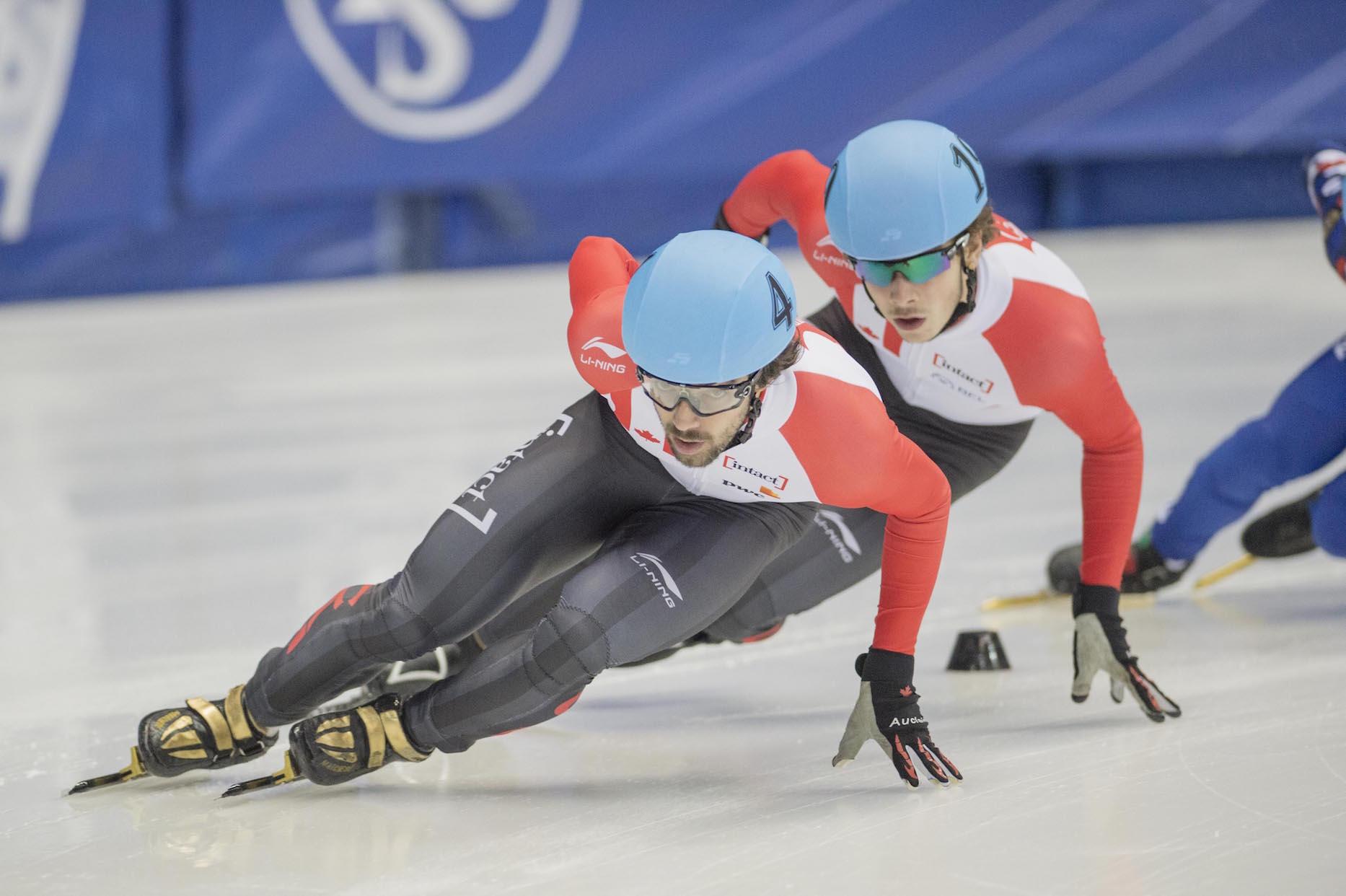 Charles Hamelin couronné d'or au 1000 m aux Championnats du monde de patinage de vitesse sur courte piste