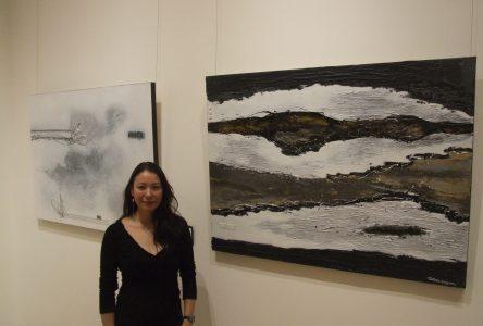 L'artiste bouchervilloise Nathalie Bruggeman présente sa première exposition solo