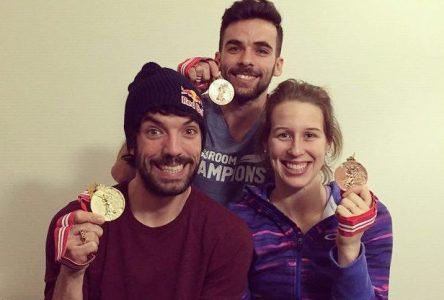 Médailles olympique ou bébé ou…les deux!