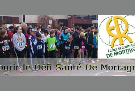 125 élèves de l'école de Mortagne s'entraînent en vue du Grand défi Pierre Lavoie