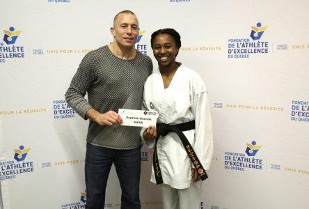 Une athlète de Longueuil obtient une bourse de la Fondation Georges St-Pierre