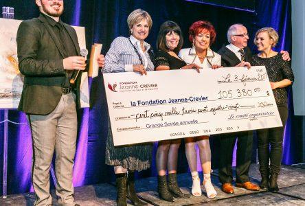 340 personnes à la Grande soirée 30e anniversaire de la Fondation Jeanne-Crevier