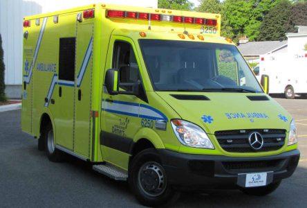Les techniciens ambulanciers d'Ambulances Demers inc. (secteur Beloeil et Boucherville) en grève