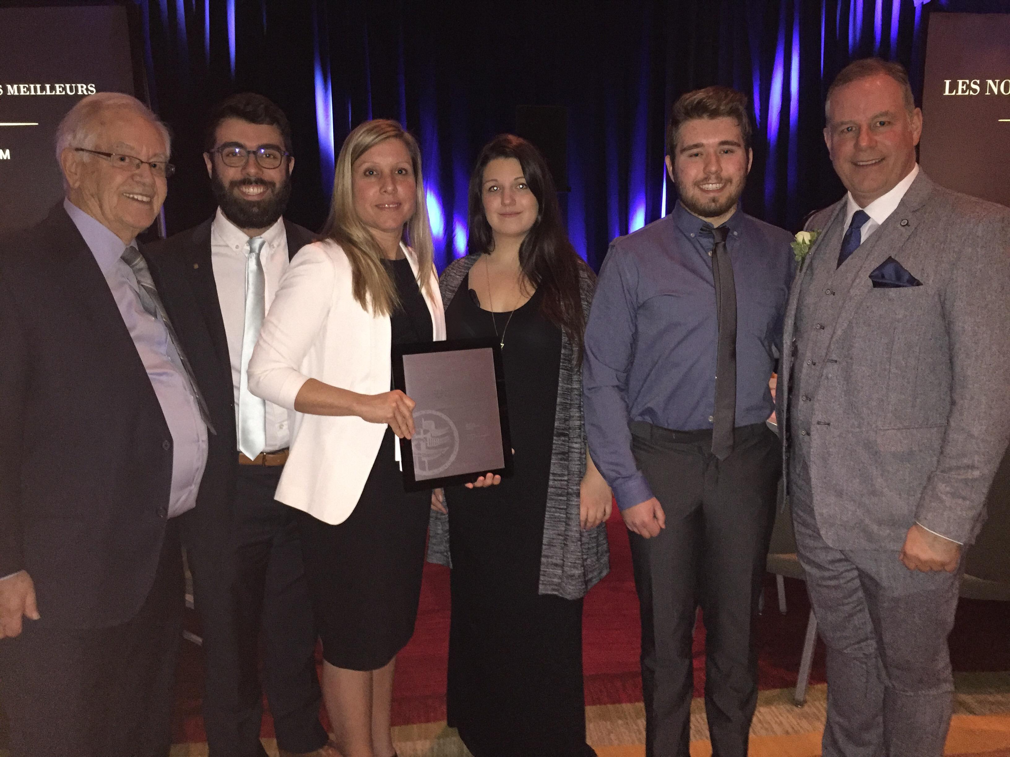 Le président de Sandoz Canada reçoit un prix honorifique