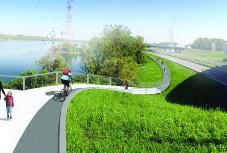 Travaux d'aménagement du 20 mars à la fin août – Lien cyclable et pédestre Boucherville-Longueuil