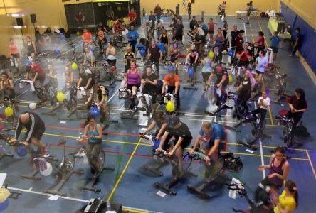 Près de 200 participants au  Grand Spin Don de la Rive-Sud