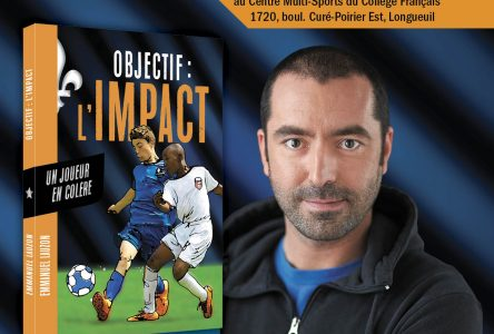 Lancement d'un nouveau roman jeunesse gravitant autour de l'univers du soccer